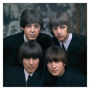 Beatles. Размер: 60 х 60 см